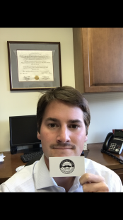 2 weeks in... Was awarded 'Creepiest Stache' last week at our check-in. Hoping to defend that title again tonight. I k