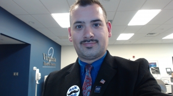 Looking STACHE-TASTIC at work!